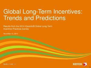 Global Long-Term Incentives: Trends and Predictions