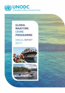 GLOBAL MARITIME CRIME PROGRAMME ANNUAL REPORT