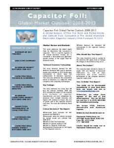 Global Market Outlook: