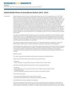 Global Mobile Phone & Smartphone Market ( )