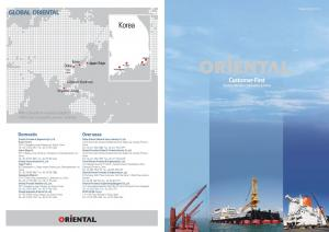 GLOBAL ORIENTAL. With a great dream towards a brighter future And for your success the journey continues
