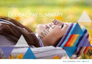 GLOBAL PAY SUMMARY ESTONIA