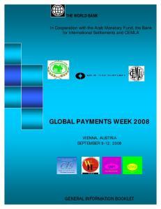 GLOBAL PAYMENTS WEEK 2008