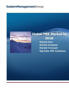 Global PBX Market to Market Size Market Analysis Market Forecast Big Data PBX Database