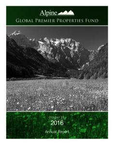 Global Premier Properties Fund