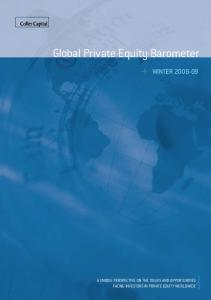 Global Private Equity Barometer