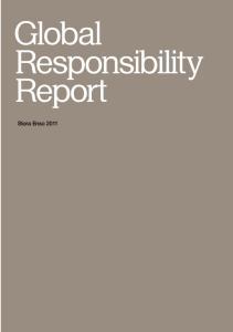 Global Responsibility Report. Stora Enso 2011