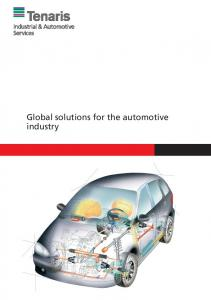 Global solutions for the automotive industry