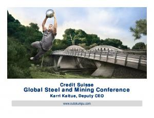 Global Steel and Mining Conference