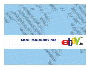 Global Trade on ebay India