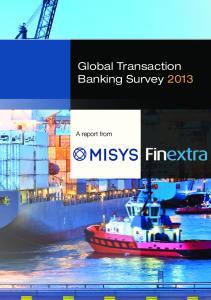 Global Transaction Banking Survey 2013