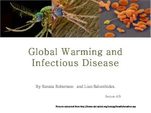 Global Warming and Infectious Disease