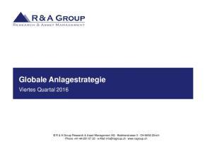 Globale Anlagestrategie