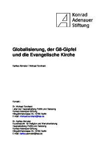 Globalisierung, der G8-Gipfel und die Evangelische Kirche