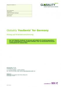 Globality YouGenio for Germany