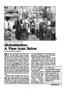 Globalization: A View from Below
