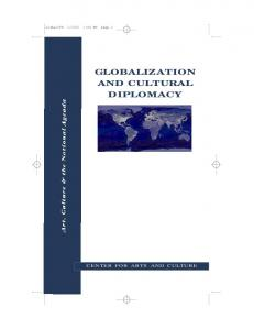 GLOBALIZATION AND CULTURAL DIPLOMACY