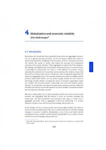 Globalization and economic volatility