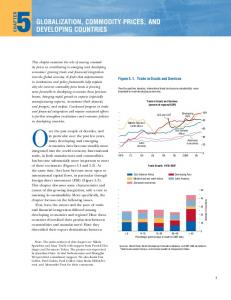 Globalization, Commodity Prices, and Developing Countries