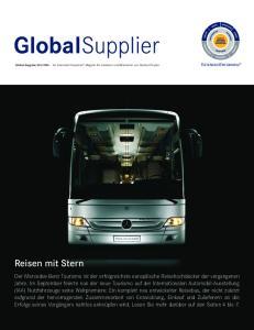 GlobalSupplier. Reisen mit Stern