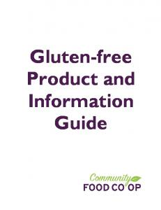 Gluten-free Product and Information Guide