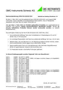 GMC-Instruments Schweiz AG
