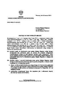 Gmina Miejsce Piastowe ul. Dukielska Miejsce Piastowe