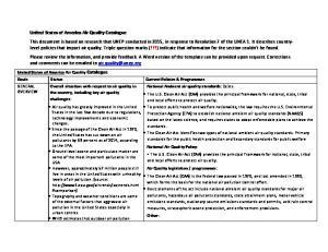 Goals Status Current Policies & Programmes GENERAL OVERVIEW