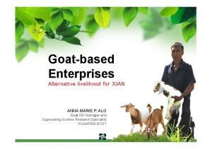 Goat-based Enterprises