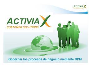 Gobernar los procesos de negocio mediante BPM