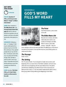 GOD S WORD FILLS MY HEART