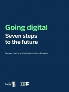 Going digital Seven steps to the future