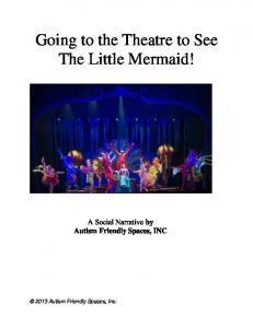 Going to the Theatre to See The Little Mermaid!