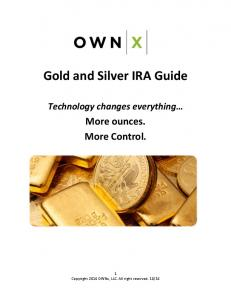 Gold and Silver IRA Guide