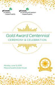Gold Award Centennial