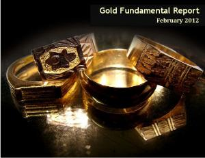 Gold Fundamental Report. February 2012