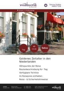 Goldenes Zeitalter in den Niederlanden