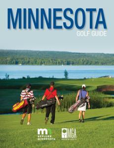 GOLF GUIDE. Minnesota Golf Guide mngolf.org