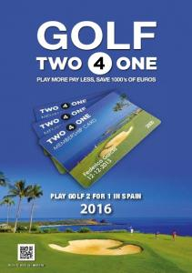 GOLF PLAY GOLF 2 FOR 1 IN SPAIN