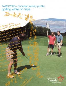 golfing while on trips