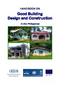 Good Building Design and Construction