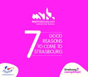 good reasons to come to Strasbourg