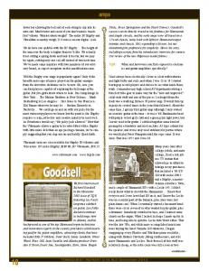 Goodsell. amps TQR: When and how were you first exposed to electronics and guitar amplifiers specifically?
