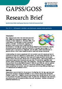 GOSS Research Brief