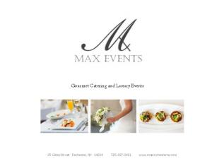 Gourmet Catering and Luxury Events. 25 Gibbs Street Rochester, NY