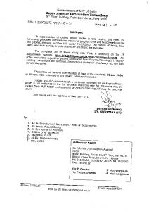 Government of NCT of Delhi