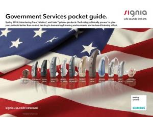 Government Services pocket guide