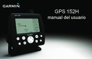 GPS 152H manual del usuario