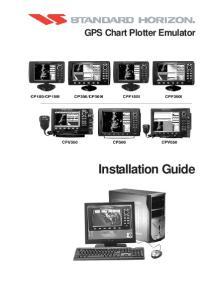 GPS Chart Plotter Emulator. Installation Guide