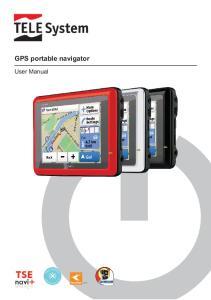 GPS portable navigator. User Manual